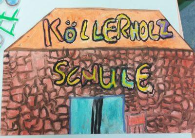 56 In der Köllerholzschule ist immer viel los.