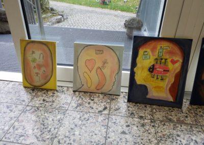 Auch hier seht ihr drei ganz unterschiedliche Gefühlebilder. Wie stellt ihr euch eure Gefühle im Kopf vor?