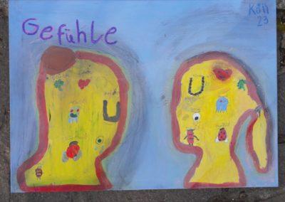 """144 Leni und Lea sagen: """"Wir sind gute Freundinnen und haben gemerkt, dass wir ähnliche Gefühle haben."""""""
